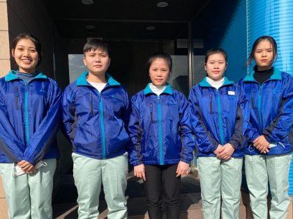 ベトナム人技能実習生5期生写真
